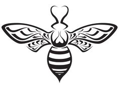 Round body shape bee