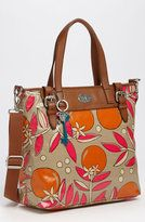 fossil bags-fossil vintage keyper coated canvas tote