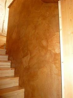 Decorating My Tin Shack: Faux Leather Wall Treatment Paper Bag Walls, Paper Bag Flooring, Paper Bags, Faux Leather Walls, Faux Walls, Wood Walls, Faux Painting Walls, Diy Painting, Stenciling Walls