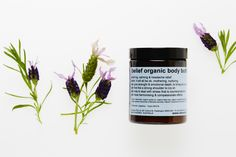 belief_body_butter soothing, calming & headache relief, organic lavender, organic shea butter, organic jojoba oil, organic bees wax   can help to deal with stress that is counterproductive, can have a harmonising effect