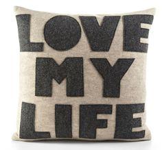 love my life pillow