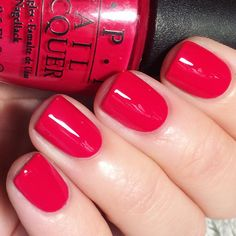 """3,085 Likes, 1,294 Comments - Nicole Young Wild and Polished (@youngwildandpolished) on Instagram: """"OPI Dutch Tulips...my most favorite red OPI polish evaa!! Formula is phenomenal and creamy and…"""""""