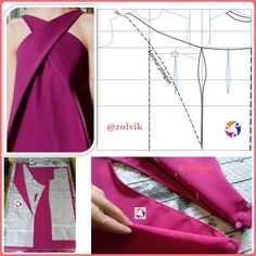 Amazing Sewing Patterns Clone Your Clothes Ideas. Enchanting Sewing Patterns Clone Your Clothes Ideas. Sewing Dress, Dress Sewing Patterns, Sewing Clothes, Clothing Patterns, Fashion Sewing, Diy Fashion, Couture Sewing, Diy Clothing, Sewing Hacks