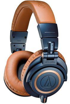 Audio Technica ATH M50 X Studio Headphones (Blue)