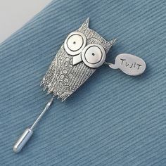 {Twit Owl} by Corinna Smith - perfect for a twitter junkie like me! :P