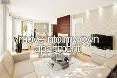 I HAVE LIVED ON MY OWN, BUT I WANT TO CHOOSE A PLACE AND LIVE BY MYSELF