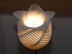 Equations lamp by Oleg Kurtsev #3Dprinting