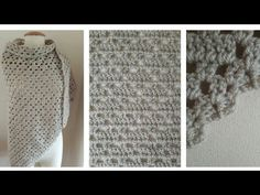 Fenna Omslagdoek #98 RECHTSHANDIG - YouTube Diy Crochet, Crochet Projects, Youtube, Om, Ponchos, Youtubers, Youtube Movies