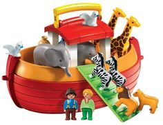 Playmobil 6765 1.2.3 Noah's Ark: Amazon.co.uk: Toys & Games