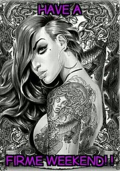 MYA Tatto Art Poster Magnetic Notice Board Black Framed - x 66 cms (Approx 38 x 26 inches) Og Abel Art, Latina Tattoo, Arte Lowrider, Tattoo Posters, Fantasy Posters, Fantasy Art, Pin Up, Brown Pride, Chicano Art