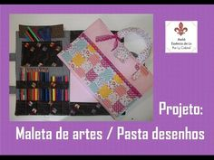 PAP - Pasta para desenhar / Maleta de artes - Especial dia das crianças - Ateliê Essência de Lis - YouTube