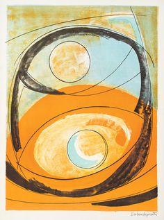 Genesis Art Print by Barbara Hepworth: Browse Barbara Hepworth Fine Art Prints at The Fine Art Company UK. Abstract Sculpture, Sculpture Art, Abstract Art, Metal Sculptures, Bronze Sculpture, Barbara Hepworth, Architecture Tattoo, Georges Braque, 3d Studio