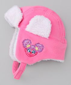 Take a look at this Innovision Pink Abby Cadabby Trapper Hat by Sesame  Street Collection on 14e88a184021