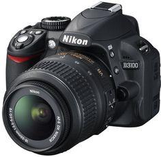 Nikon D3100 design and controls
