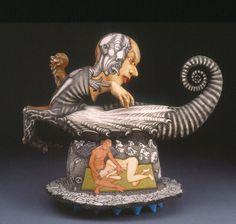 Sergei Isupov #collectibles #art #teapot