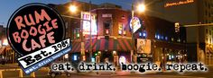 Rum Boogie Cafe Of all the clubs and bars on Beale Street, this is the one not to miss. If their superfine rum selection and beer aren't enough to entice you, the Cajun and barbecue menu should. It also houses some of music's most sought-after memorabilia, including more that 200 autographed guitars from some of the greatest performers in the music industry. Nighttime is all about the music - open 7 Days A Week from 11am to 2am.