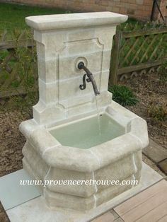 installer une fontaine murale de jardin conseils vid o photos pinterest fontaine murale. Black Bedroom Furniture Sets. Home Design Ideas