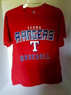 Mens Genuine Merchandise Texas Rangers Baseball Red Short Sleeve T-shirt Medium | Sports Mem, Cards & Fan Shop, Fan Apparel & Souvenirs, Baseball-MLB | eBay!