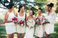 24 Well-Dressed Bridal Parties Who Kept Things Short And Sweet