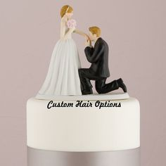 Wedding Cake Topper  Fairy Tale  Cinderella by LoveandLuxeHandmade, $42.99