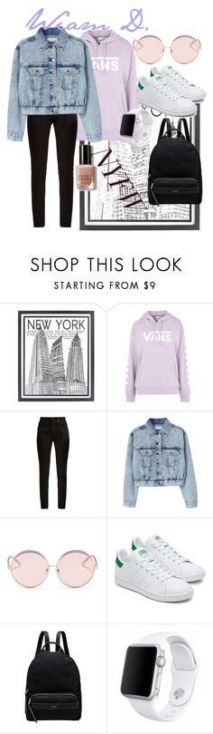 """""""Untitled #422"""" by wiamfashionstyle ❤ liked on Polyvore featuring Stephenson, Vans, Yves Saint Laurent, MANGO, N°21, Radley, Apple and Bobbi Brown Cosmetics"""