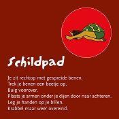 Begeleide of zelfstandige activiteit - Schildpad (kinderyogakaart Helen Purperhart)