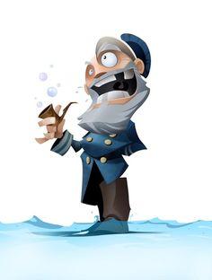Dela Longfish - Character Design Page