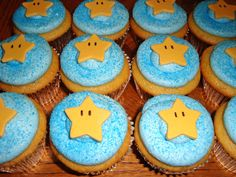 Super Mario Gallery http://www.arcade-games-web.com/galleries/super_mario/ Mario muffins cup-cakes. Geeky cooking.