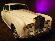 Elvis Presley's 1966 Rolls Royce Silver Cloud at the Graceland Mansion in Memphis, Tennessee