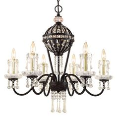 I pinned this Anastasia Chandelier from the AF Lighting Summer Sale event at Joss and Main!
