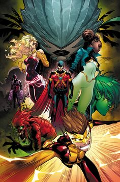 TEEN TITANS #16 Written by SCOTT LOBDELL and WILL PFEIFER Art by ALISSON BORGES Cover by JORGE JIMENEZ