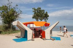 Libraries on the Beach