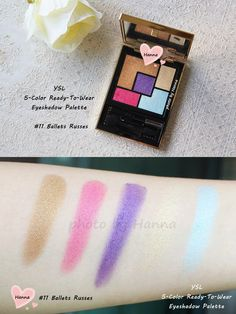 Ysl the street and i eyeshadow palette and face palette from the ysl 5 color ready to wear eyeshadow palette no11 ccuart Gallery