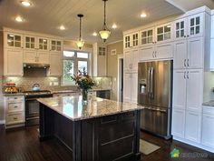 Image result for cabinets that go to ceiling