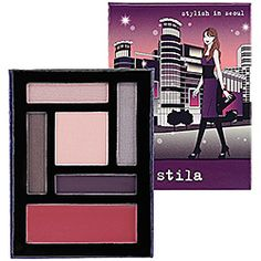 Gotta try, this fits in my purse. Stila Stylish in Seoul Travel Palette