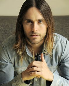 Jared Leto- gorgeous even with the long hair.