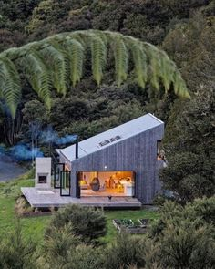 Dope or nope? The Back Country House is designed by LTD Architectural Design Studio and is located in // Photo by Jo Smith - Architecture and Home Decor - Bedroom - Bathroom - Kitchen And Living Room Interior Design Decorating Ideas - Architectural Design Studio, Architectural Styles, Casas Containers, Cabin In The Woods, Rural House, Retreat House, Home Decor Bedroom, Bedroom Country, Country Decor