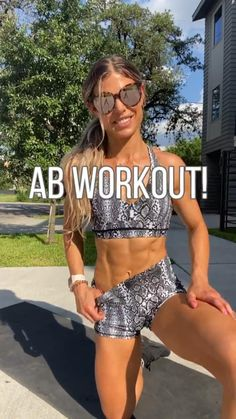 Abs And Obliques Workout, Slim Waist Workout, Flat Belly Workout, Tummy Workout, Monday Workout, Workout Challenge, Week Workout, Fitness Workout For Women, Fitness Routines