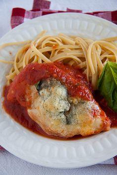 Italian Food ~ #food #Italian #italianfood #ricette #recipes ~ Chicken Parmigiana