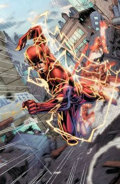 The Flash by Brett Booth and Norm Rapmund