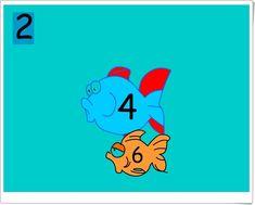 Cuenta los peces de dos en dos (Matemáticas de 1º y 2º de Primaria) Pikachu, Disney Characters, Fictional Characters, Snoopy, Maths Area, Learning Numbers, Teaching Resources, Short Stories, Fantasy Characters