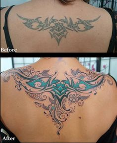 Most tattoo artists can help you cover up a tattoo you don't like or want to change.
