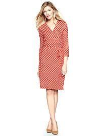 Gap: Wrap dress print ($22)