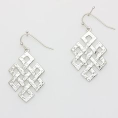 Latrice Earrings in Silver on Emma Stine Limited