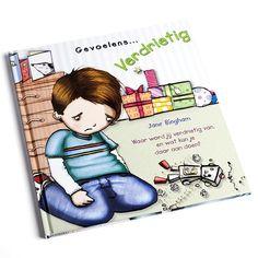 Verdrietig - Verdrietig zijn is niet leuk. In dit leuk geïllustreerde boek leert je kind meer over de emotie verdriet. Voor kinderen vanaf 5 jaar.