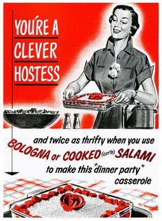 Clever hostess