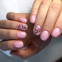 Beautiful summer nails, Bright summer nails, Original nails, Pastel nails, Plain nails, ring finger nails, Short nails for kids, Spectacular nails