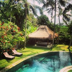 Paradise in Bali from @alldayevieday instagram