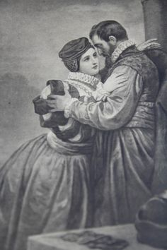Artur Grottger, Zygmunt August i Barbara, 1860 r. History, Crafts, Painting, Royals, Poland, Kunst, Historia, Manualidades, Painting Art