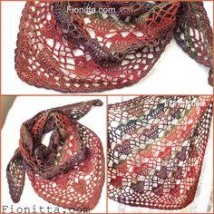 Heart shawl | | Fionitta crochet